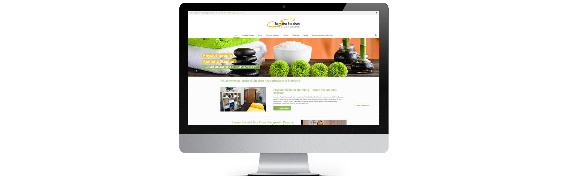 Projekt: Website Stephan Physio