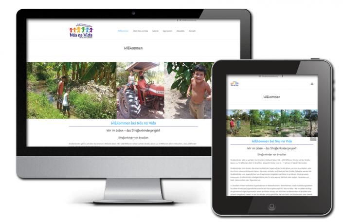 Projekt: mehrsprachige Website für Nos na Vida