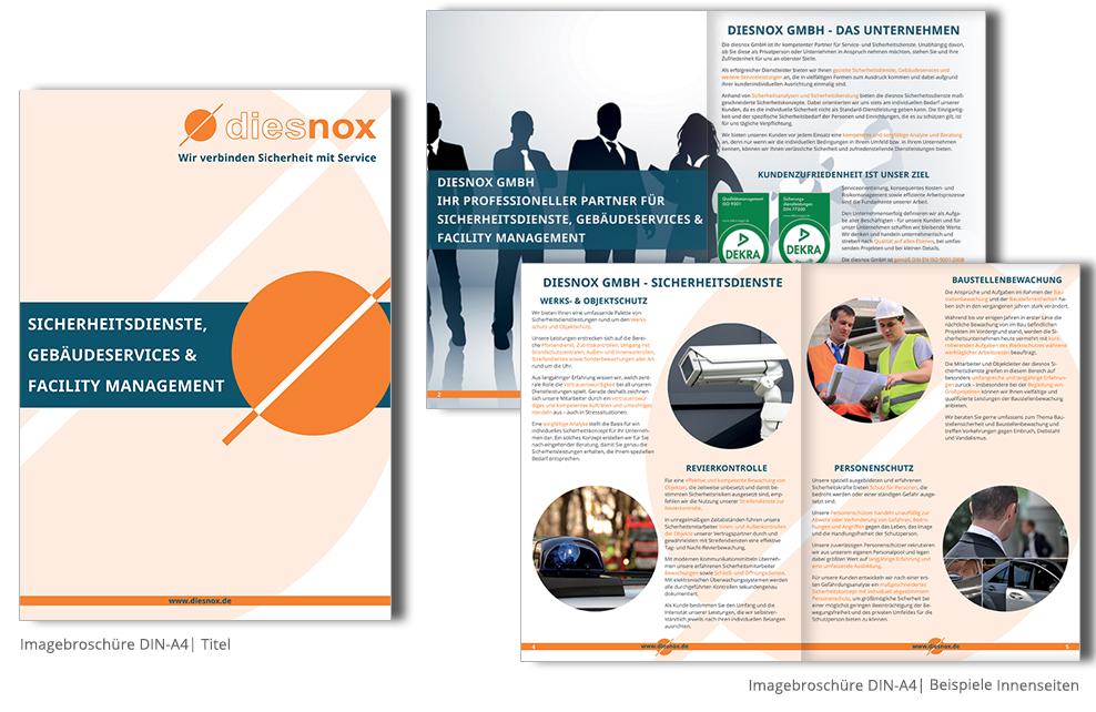 weitere referenzen printdesign - Imagebroschure Beispiele