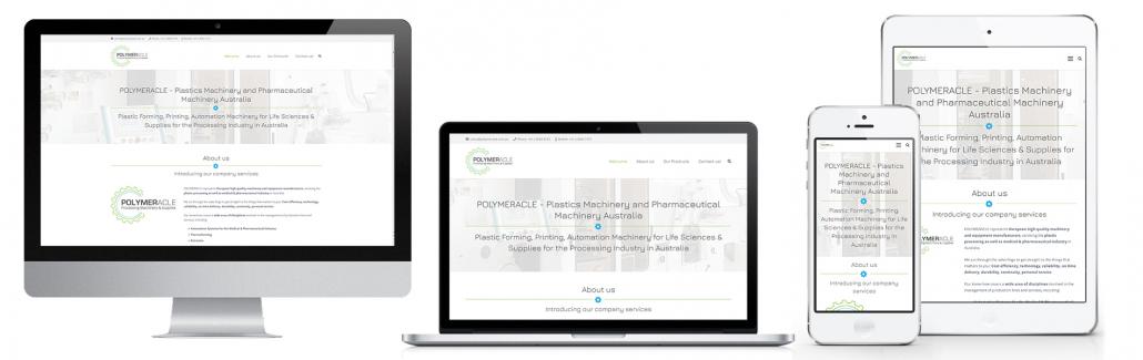 Projekt: Responsive Website für Polymeracle Australia
